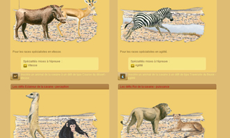 Lionzer - Le sfide della savana